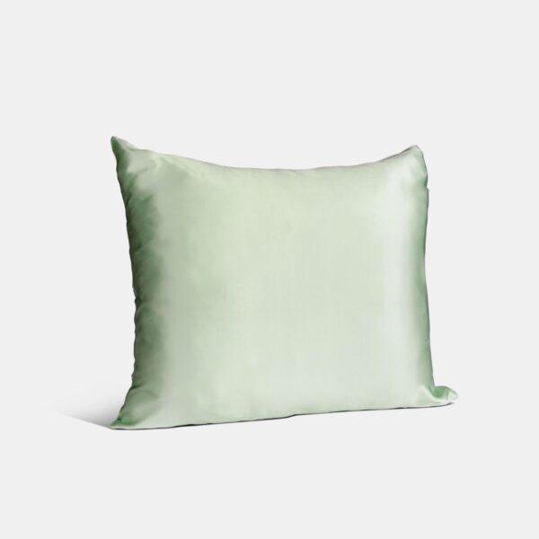 zijden kussensloop groen