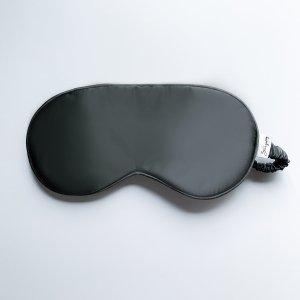slaapmasker zwart zijde