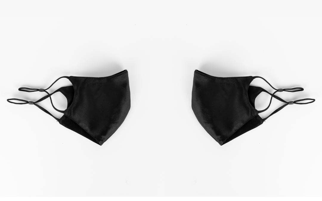 zijden mondmasker