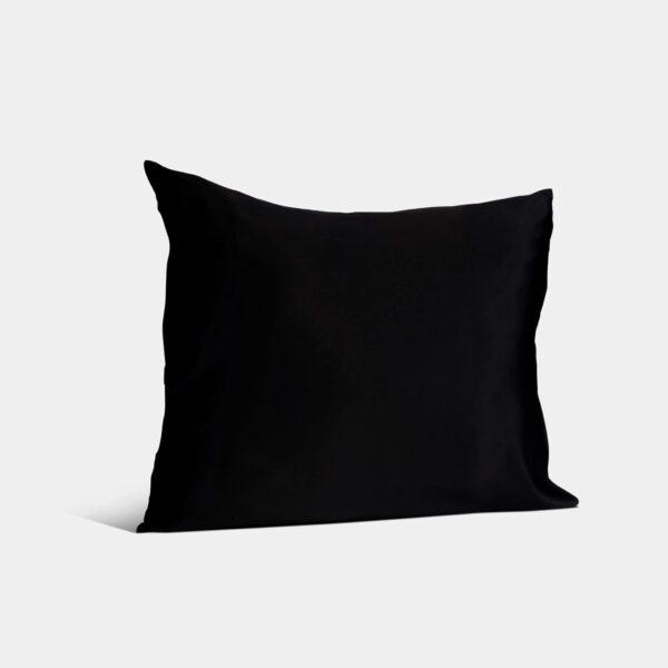 zijden kussensloop zwart