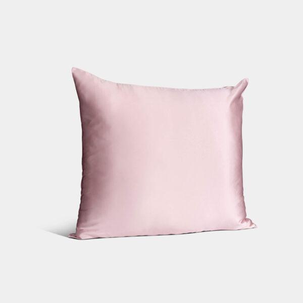 zijden kussensloop roze