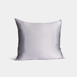 zijden kussensloop zilver