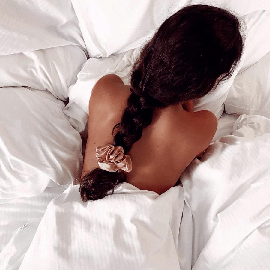 Rosegold scrunchie