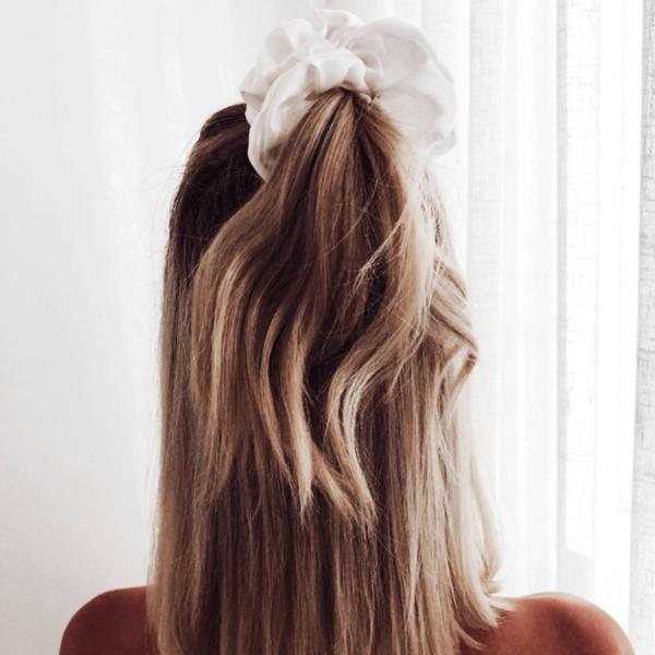 zijden scrunchie