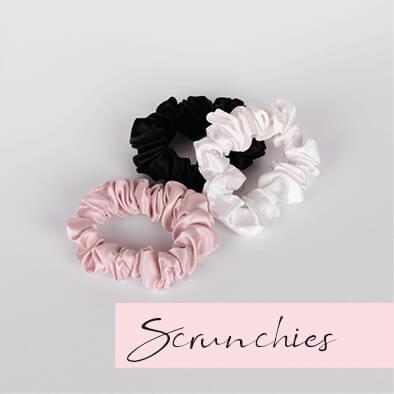 zijden scrunchies